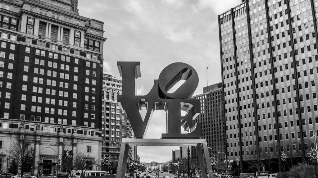 Love Park, Philly.